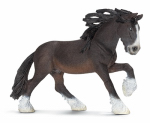 Schleich North America 13734 Toy Figure, Shire Stallion, Ages 3 & Up