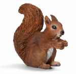 Schleich North America 14684 BRN Eating Squirrel