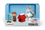 Schleich North America 22017 Toy Charlie Brown Christmas Scenery Pack, Ages 3 & Up