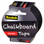 3M 1905R-CB-BLK Chalkboard Tape, 1.88-In. x 5-Yds.