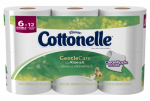 Kimberly-Clark 45381 6PK Cottonelle Gentle