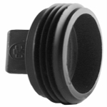 Charlotte Pipe & Foundry ABS 00106  0600HA Pipe Fitting, ABS/DWV Plug, 1.5-In. MPT