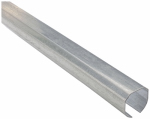 National Mfg N193-763 8' Galv Plain Round Rail