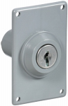 National Mfg N280-834 GRY Electric or Electrical Key Switch
