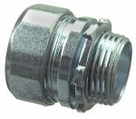 Halex/Scott Fetzer 26351 Rigid Compression Connector, Indoor, 1/2-In., 2-Pk.