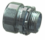 Halex/Scott Fetzer 63510 Rigid Compression Connector, Indoor, 1-In., 2-Pk.
