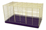Ware Manufacturing 00682 Rabbit Cage, Chew-Proof Metal, 30-In.
