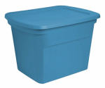 Sterilite 17314308 Storage Tote, Blue, 18-Gal., Must Order in Quantities of 8