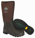 Muck Boot CHCT900-9 Chore Cool High Work Boots, Brown, Unisex Size 9 Men/10 Women