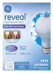 G E Lighting 67774 Reveal Halogen Light Bulbs, Soft White, 72-Watt, 4-Pk.