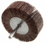 Forney Industries 60183 Mounted Flap Wheel, 3 x 1-In., 120-Grit