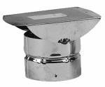 Selkirk 244805 Horizontal Termination Cap, 3-In.