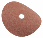 Forney Industries 71654 Resin Fibre Aluminum Oxide Sanding Disc, 7-In., 3-Pk., 36-Grit