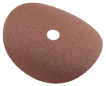 Forney Industries 71655 Resin Fibre Aluminum Oxide Sanding Disc, 7-In., 3-Pk., 50-Grit