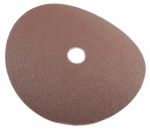 Forney Industries 71656 Resin Fibre Aluminum Oxide Sanding Disc, 7-In., 3-Pk., 80-Grit