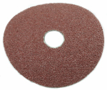 Forney Industries 71668 Resin Fibre Aluminum Oxide Sanding Disc, 4.5-In., 3-Pk., 36-Grit