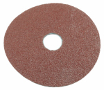 Forney Industries 71669 Resin Fibre Aluminum Oxide Sanding Disc, 4.5-In., 3-Pk., 50-Grit