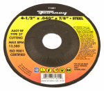 Forney Industries 71801 Cutting Wheel, Type 27, 4.5 x .040-In.