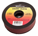 Forney Industries 71803 Emery Cloth Bench Roll, 80-Grit, 1-In. x 10-Yard