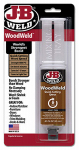 J-B Weld 50151 Quick Setting Wood Epoxy Syringe, 25 ml.