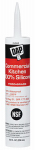 Dap 08658 Commercial Silicone Kitchen Caulk, Clear, 9.8-oz.