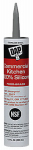 Dap 08660 Commercial Silicone Kitchen Caulk, Stainless Steel, 9.8-oz.