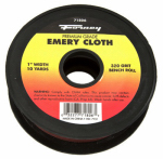 Forney Industries 71806 Emery Cloth Bench Roll, 320-Grit, 1-In. x 10-Yard