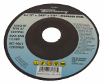 Forney Industries 71807 Cutting Wheel, Type 27, 4.5 x .045-In.