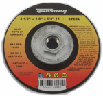 Forney Industries 71818 Grinding Wheel, Type 27, 4.5 x 1/8-In.