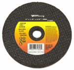 Forney Industries 71843 Cutting Wheel, Type 1, 3 x 1/8-In.