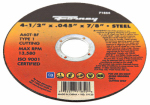 Forney Industries 71854 Cutting Wheel, Type 1, 4.5 x .045-In.