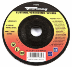 Forney Industries 71875 Grinding Wheel, Type 27, 4 x 1/8-In.