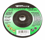 Forney Industries 71896 Masonry Grinding Wheel, Type 27, 4 x .25-In.