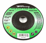 Forney Industries 71897 Masonry Grinding Wheel, Type 27, 4.5 x .25-In.
