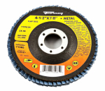 Forney Industries 71985 Jumbo Blue Zirconia Flap Disc, Type 29, 40-Grit, 4.5-In.