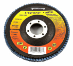 Forney Industries 71987 Blue Zirconia Flap Disc, Type 29, 80-Grit, 4.5-In.