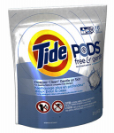 Procter & Gamble 89885 Pods HE Laundry Detergent, Free & Gentle, 16-Ct.