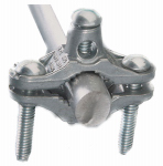 Dare Products 2303 Electric Fence Ground Clamp, Zinc, 1/2 to 1-In.