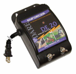 Dare Products DE 20 Electric Fence Energizer, 1-Acre, Plug-In, .05-Joule