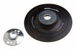 Forney Industries 72321 Backing Pad With Spindle Nut, 4.5-In. x 5/8-11