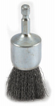 Forney Industries 72738 Crimped Wire End Brush, 1 x .25 x .012-In.