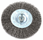 Forney Industries 72739 Crimped Wire Wheel, 4 x .25 x .012-In.