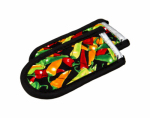 Lodge Mfg 2HHMC2 Hot Handle Holder, Chili Pepper Print, 2-Pk.