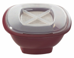 Nordic Ware 60127 Microwave Popcorn Popper, Red, 12-Cup Capacity