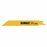 DeWalt DW4808B25 6'' 14 TPI Reciprocating Blade - 25 Pack