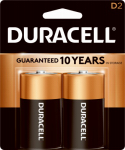 "Duracell Distributing Nc MN1300B2Z 2-Pack  ""D"" Alkaline Batteries"