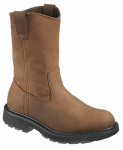 Wolverine Worldwide W04727 14.0M Slip-Resistant Work Boots, Medium Width, Brown Nubuck Leather, Size 14