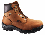 Wolverine Worldwide W05484 10.5M Durbin Waterproof Work Boots, Medium Width, Brown Nubuck Leather, Men's Size 10.5