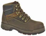 Wolverine Worldwide W10314 07.5EW Cabor Waterproof Work Boots, Extra Wide, Brown Nubuck Leather, Men's Size 7.5