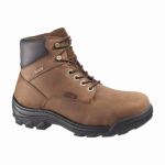 Wolverine Worldwide W05483 09.5EW Durbin Waterproof Work Boots, Extra Wide, Brown Nubuck Leather, Men's Size 9.5